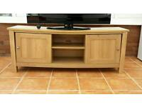 Next Oak Effect Large TV Stand