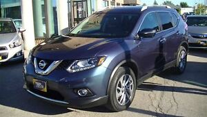 2014 Nissan Rogue SL AWD WITH LEATHER, SUNROOF, NAVIGATION