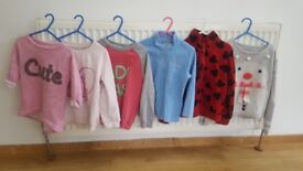 Girls jumpers size 4 to 5 years