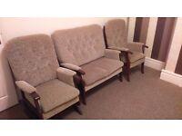 3 piece suite Excellent condition.