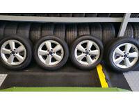 Ford Genuine 16 alloy wheel + 4 x tyres 205 55 16 Arrowspeed