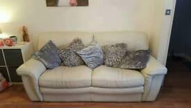 Leather sofa 3+2+1