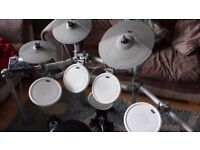 KAT KT2 Electronic Drum Kit with stool and Premier Bass pedal £280