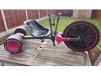 Pink Huffy Mean Machine - Children's Go-Kart