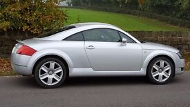 *AUDI TT COUPE, 55 REG, ONLY 77000 MILES, LADY OWNER, IMMACULATE,12 MONTHS MOT, JUST SERVICED*