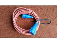 10 metre electric hook up cable