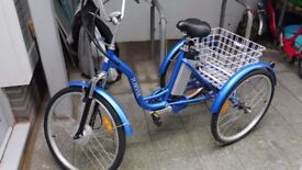 """JORVIK"" Electric Tricycle Nearly New ,"
