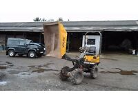 MINI DIGGER ,TRAILER AND DUMPER