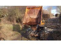 Volvo Pel Job ED750 skip loader dumper