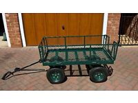 Metal Garden Trolley - easy use, removable panels