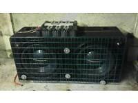 Bass bin and amplifier