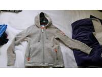Superdry zip hoodie L..like new