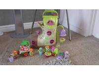 ELC FAIRYLAND BLUEBELL BOOT AND FAIRY TOADSTOOL CAR