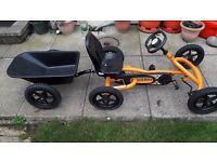 Berg Ride On Go Kart - Orange plus trailer