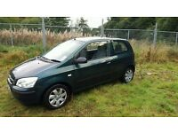 HYUNDAI GETZ GSI 2005. 117,000 MILES. MOT FEBRUARY 2017.ECONOMICAL TO RUN. TEL BRENDAN 07985739678.