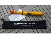 CARAVAN NOSEWEIGHT GAUGE in bag and instructions