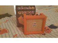 Orange micro crush amp