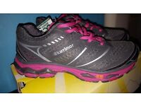 Ladies Girls size 5 Karrimor D30 Trainers x Brand new in box