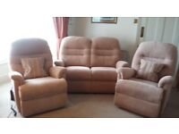 Electric Recliner Chairs and 2 seater sofa