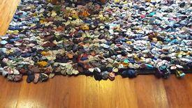 Unique large bow tie rug
