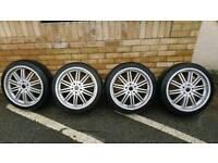 4x 19 inch alloy wheels 5x112 mercedes Audi vw