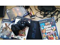BARGAIN PLAYSTAITON 2 WITH 10 GAMES WONT LAST LONG BE QUICK