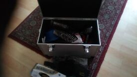 Hairdressing kit in box for college etc