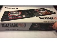 Numark mix track pro 3 all in one controller.