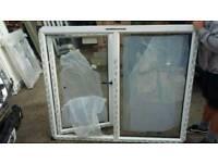 Upvc anthracite grey window