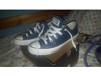 Leather Converse UK Size 4