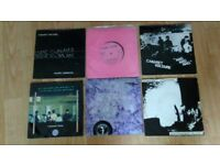 6 x cabaret voltaire singles 80's early synth