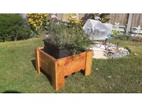 Handmade Wooden Garden Planter box