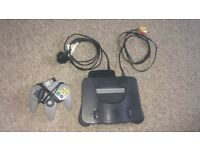 Nintendo 64 - Good Condition, with all wires and remote