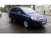 Vauxhall zafira 1.9 ctdi 120 automatic, 2010 model,Lovely Family 7 seater very clean,Mot 24.09.2017