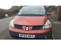 Renault Espace 2.2, 7 Seater, 53 Plate