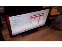 "Hitachi 42"" Full HD Freeview HD Wifi Smart LED TV £200"