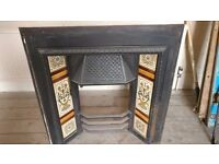 Victorian Cast Iron Fireplace - Excellent condition - complete