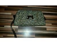 Kookai leopard print bag