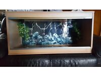 Reptile 3ft tank heat mat lights & accesories