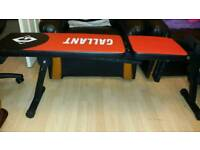 Work out bench brand new