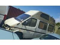 Ford transit campa van breaking