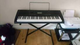 Casio Keyboard and stand SOLD PENDING COLLECTION