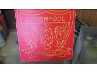 Liverpool plaque gift