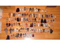 Star Wars action figures x108