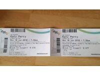 2x Katy Perry tickets- Birmingham