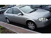 Nissan primera one year MOT, very good condition