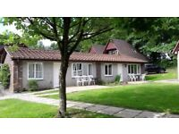 Holiday Bungalows on Hengar Manor Park Cornwall, self catering, sleeps 4