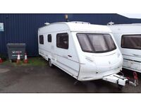 Ace Award 4 Berth Fixed Bed Touring Caravan 2004