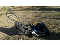 Hayter Harrier 41 spirit push mower with rear roller