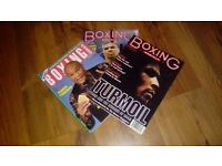 Boxing magazines from the 1990's